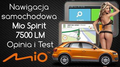 Nawigacja samochodowa Mio Spirit 7500 LM – Opinia i Test