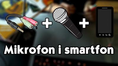 Jak podłączyć mikrofon do smartfona