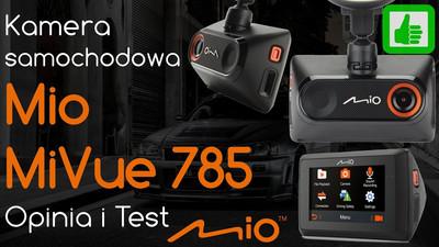 Kamera samochodowa Mio MiVue 785 – Opinia i Test