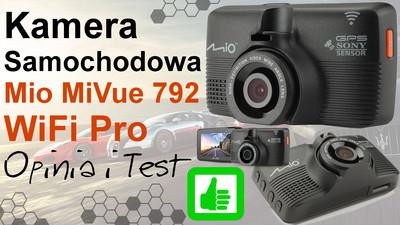Mio MiVue 792 WiFi Pro kamera samochodowa – Opinia i Test