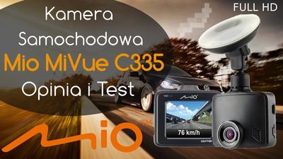 Mio MiVue C335 kamera samochodowa – Opinia i Test