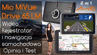 Kamera i nawigacja samochodowa Mio MiVue Drive 65 LM – Opinia i Test