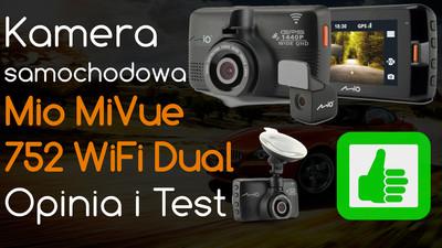 Mio MiVue 752 WiFi Dual Kamera samochodowa – Opinia i Test