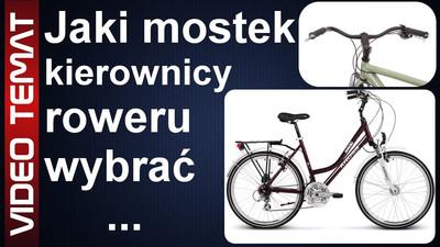 Jaki wybrać mostek do kierownicy roweru