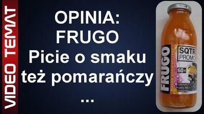 Napój Frugo mocno pomarańczowe - Opinia
