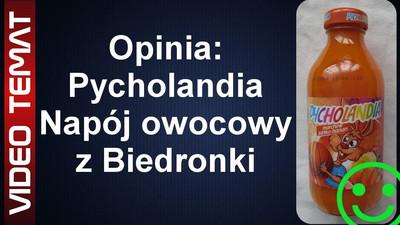 Nektar Pycholandia owocowy z Biedronki - Opinia