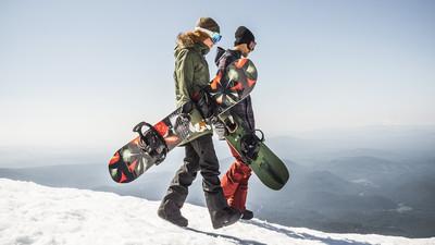 Jak się nauczyć jeździć na desce snowboardowej