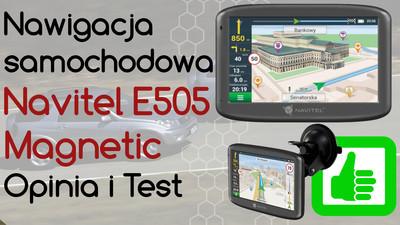 Nawigacja samochodowa Navitel E505 Magnetic – Opinia i Test