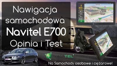 Nawigacja samochodowa Navitel E700 – Opinia i Test