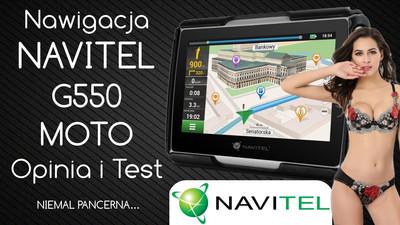 Nawigacja samochodowa Navitel G550 MOTO – Opinia i Test