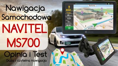 Nawigacja samochodowa Navitel MS700 – Opinia i Test