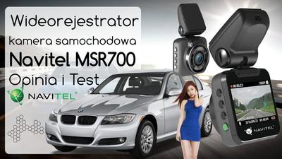 Kamera samochodowa Navitel MSR700 – Opinia i Test