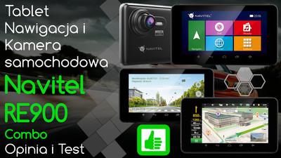Navitel RE900 Combo Tablet, nawigacja i kamera samochodowa – Opinia i Test
