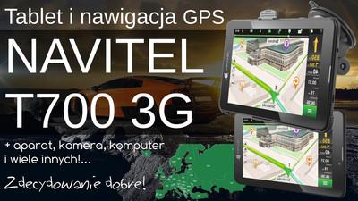 Tablet i nawigacja GPS Navitel T700 3G z Androidem – Opinia i Test