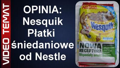 Płatki śniadaniowe Nesquik od Nestle - Opinia