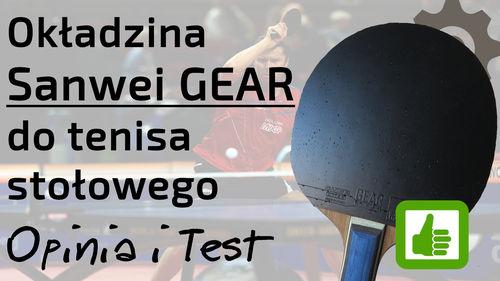 Okładzina Sanwei Gear Hyper do tenisa stołowego – Opinia i Test