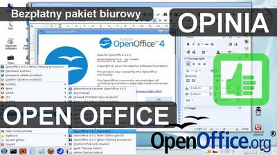 Bezpłatny pakiet biurowy Open Office - Opinia