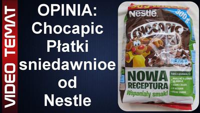 Płatki śniadaniowe Chocapic od Nestle - Opinia