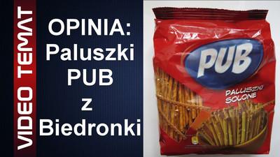 Paluszki solone PUB z Biedronki - Opinia