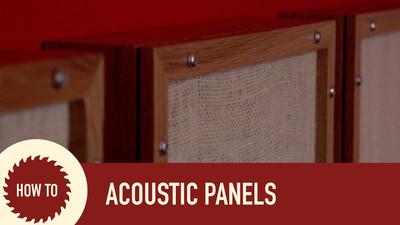 Jak zrobić panele akustyczne samemu