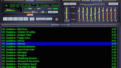 Odtwarzacz muzyki na komputer Winamp - Opinia