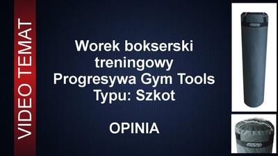 Worek treningowy Progresywa Gym Tools Szkot - Opinia