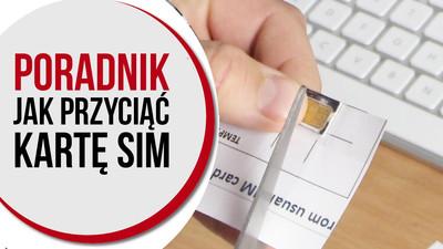Jak przyciąć kartę SIM do nano SIM lub micro SIM