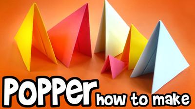 Jak zrobić pukawkę z papieru