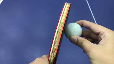 Zmiana rotacji - podkręcenia piłki w tenisie stołowym