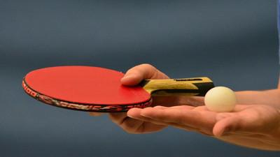 Rozgrzewka w tenisie stołowym