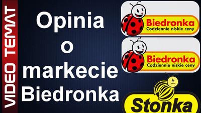 Sklep Biedronka - Opinia