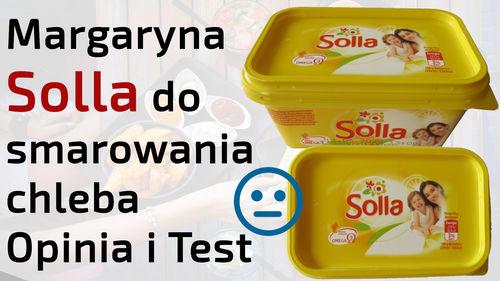 Margaryna Solla do smarowania chleba – Opinia i Test