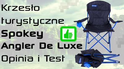 Krzesło turystyczne Spokey Angler De Luxe – Opinia i Test