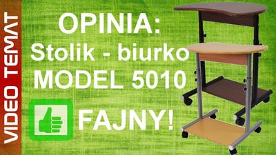 Regulowany stolik – biurko pod laptopa model 5010 - Opinia