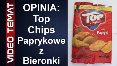 Top Chips o smaku papryki z Biedronki - Opinia