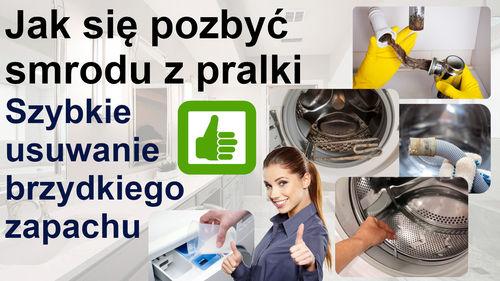 Jak się pozbyć smrodu z pralki – usuwanie brzydkiego zapachu pralki