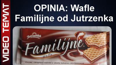 Wafle Familijne kakaowo – śmietankowe Jutrzenka – Opinia