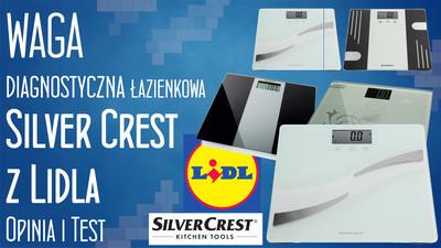 Waga diagnostyczna łazienkowa Silver Crest z Lidla – Opinia i Test