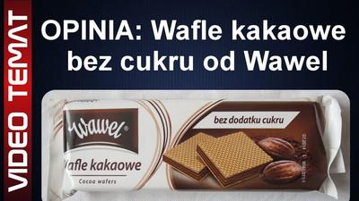 Wafle kakaowe bez dodatku cukru od Wawel – Opinia