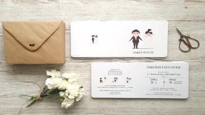 Najlepsze zaproszenia ślubne