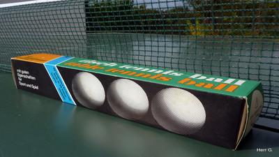 Piłka do tenisa stołowego Zschopau - Opinia