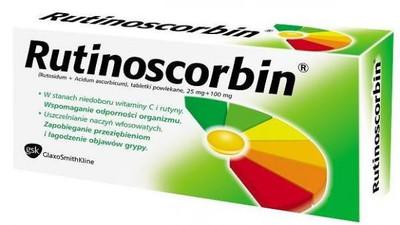 Lek z witaminą C Rutinoscorbin – Opinia